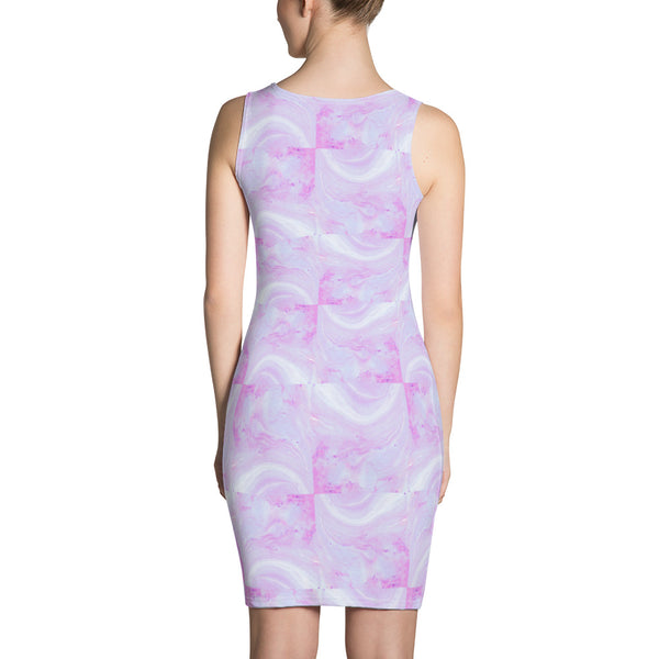 Periibleu Pink Candy Cloud Dress - Periibleu
