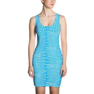 Periibleu Alligator Print Dress - Periibleu