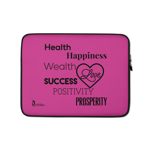 Periibleu Positivity Vision Board Laptop Sleeve