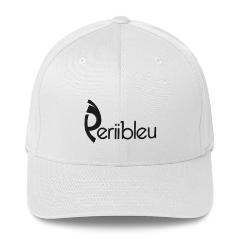 Periibleu Positivity Closed Back Twill Cap - Periibleu