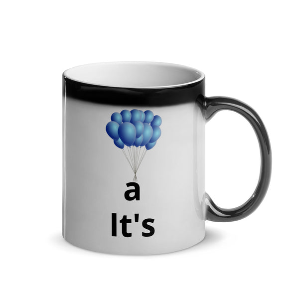 It's A Boy Gender Reveal Surprise Mug - Periibleu