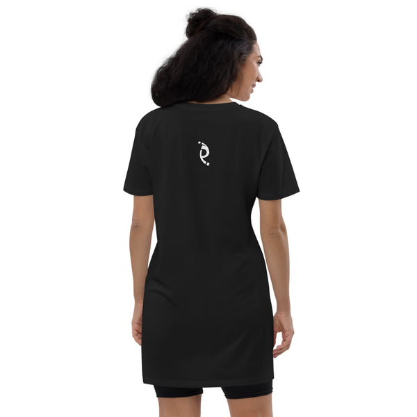 Periibleu Positivity Organic Cotton T-Shirt Dress