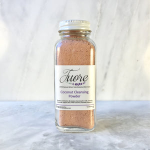 Coconut Cleansing Powder Natural Organic Botanical Skin Care