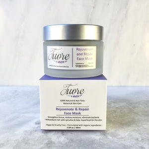 Rejuvenate & Repair Face Mask Natural Organic Botanical Skin Care