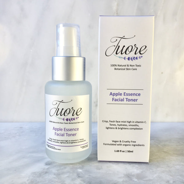 Apple Essence Facial Toner Natural Organic Botanical Skin Care