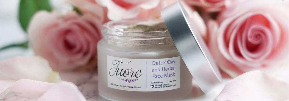 Detox Clay and Herbal Face Mask