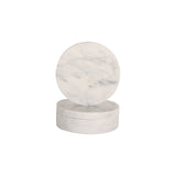 Behr & Co Round Marble Coasters - Set of Four