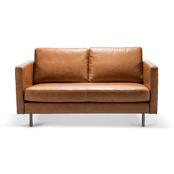 Ethnicraft Sofa N501 Sofa - 2 Seater - Old Saddle, 167x90x85cm (4595673301076)