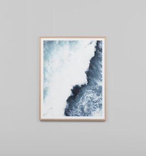 Middle of Nowhere Ocean Merge 2 Print (4545955790932)