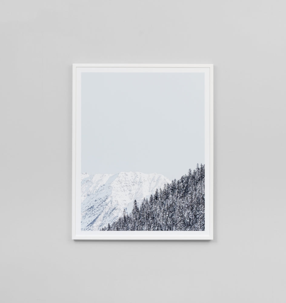 Middle of Nowhere Mountainside Print (4545945272404)