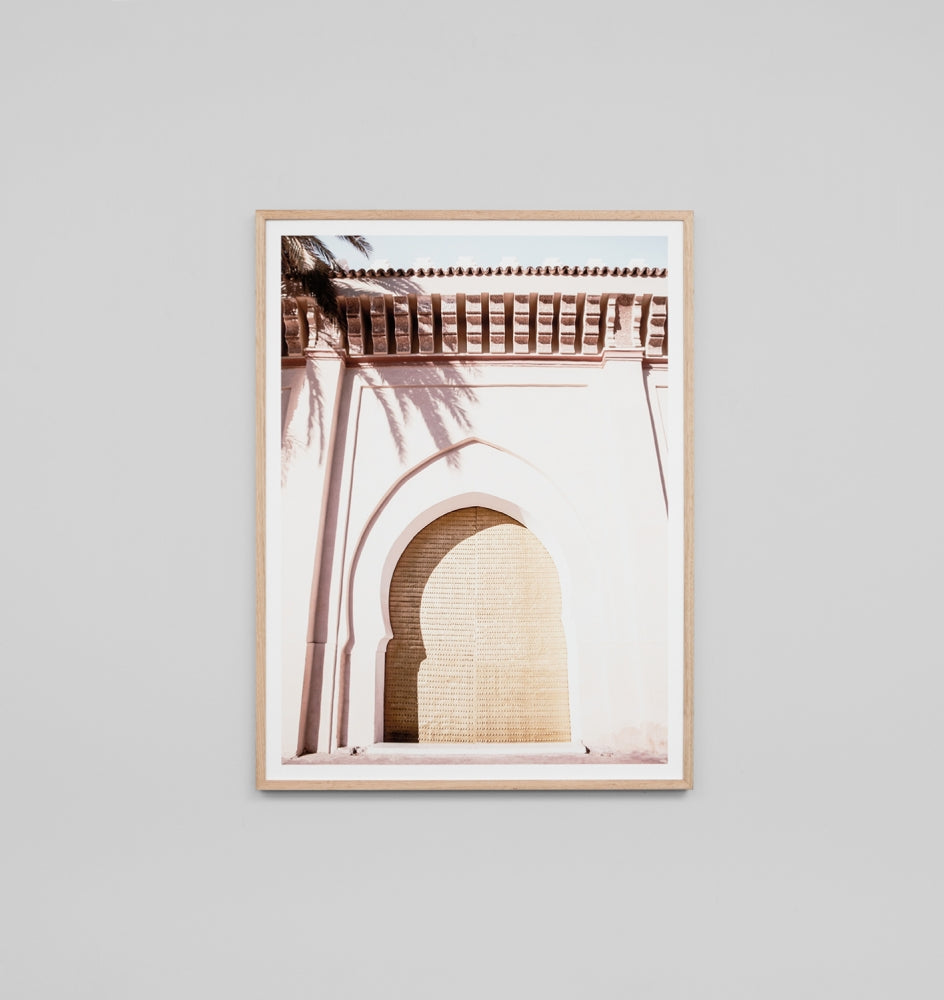 Middle of Nowhere Sunlit Arch Print (4546232647764)