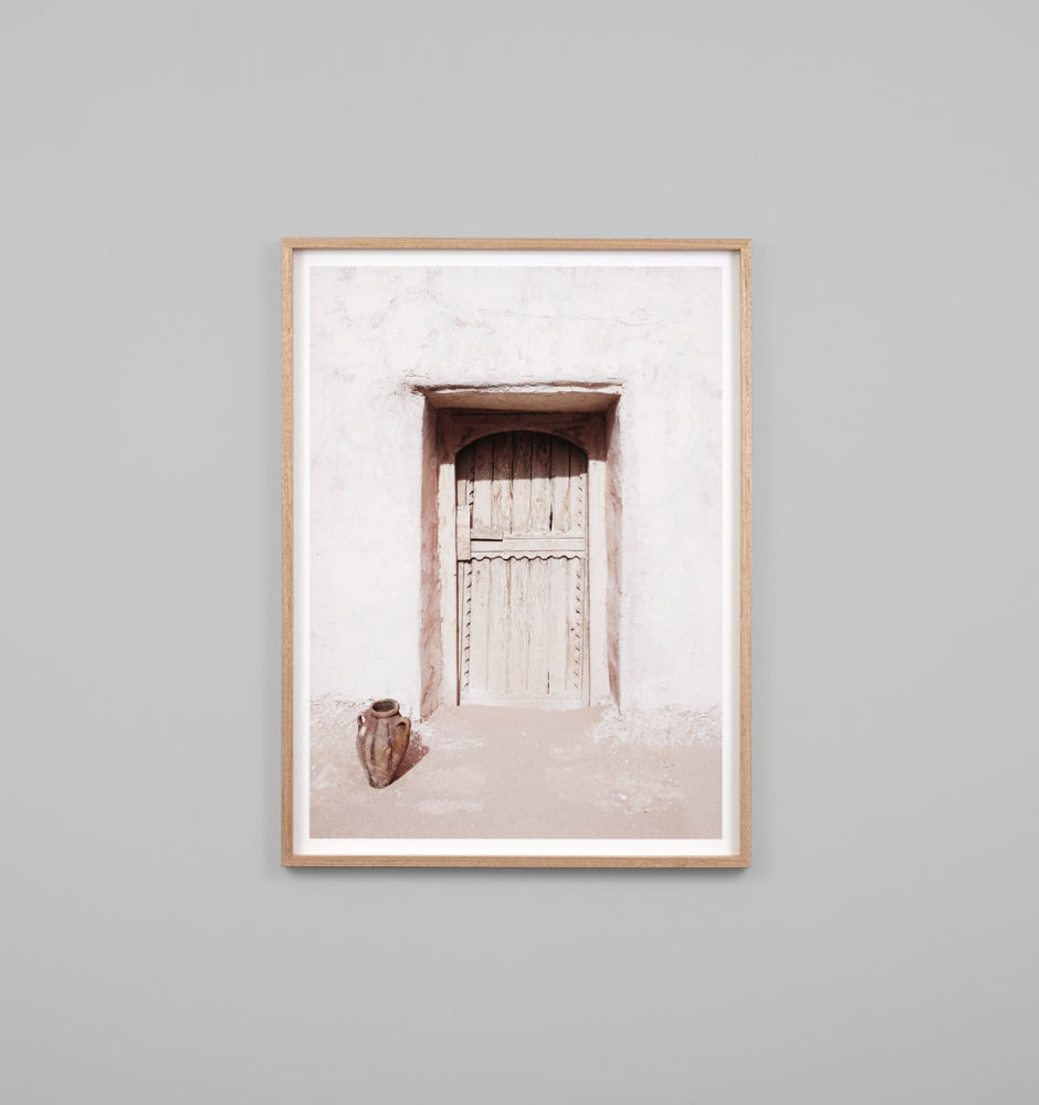 Middle of Nowhere Desert Door Print (4545897332820)