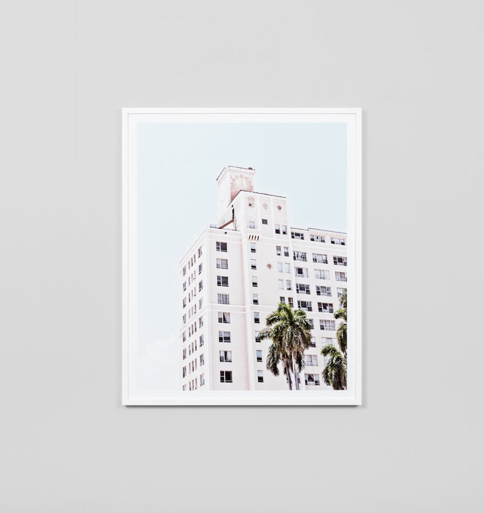 Middle of Nowhere Pink Hotel Print (4546154168404)