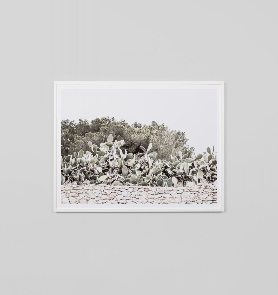 Middle of Nowhere Cactus Island Print (4545507688532)