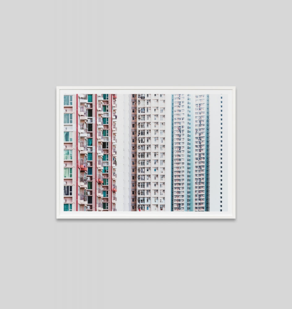 Middle of Nowhere Pastel High Rise Print (4546146467924)