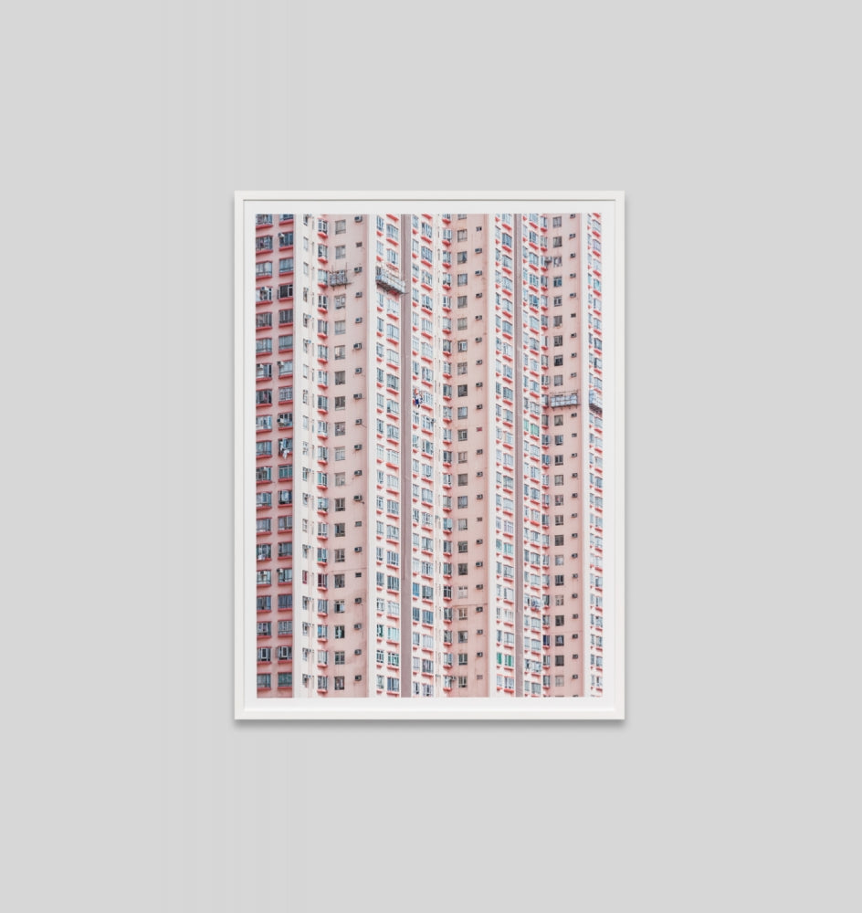 Middle of Nowhere Pink Skyscraper Print (4546156363860)