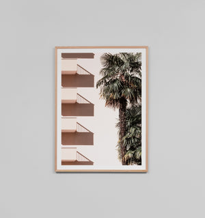 Middle of Nowhere Palm Balcony Print (4545962803284)