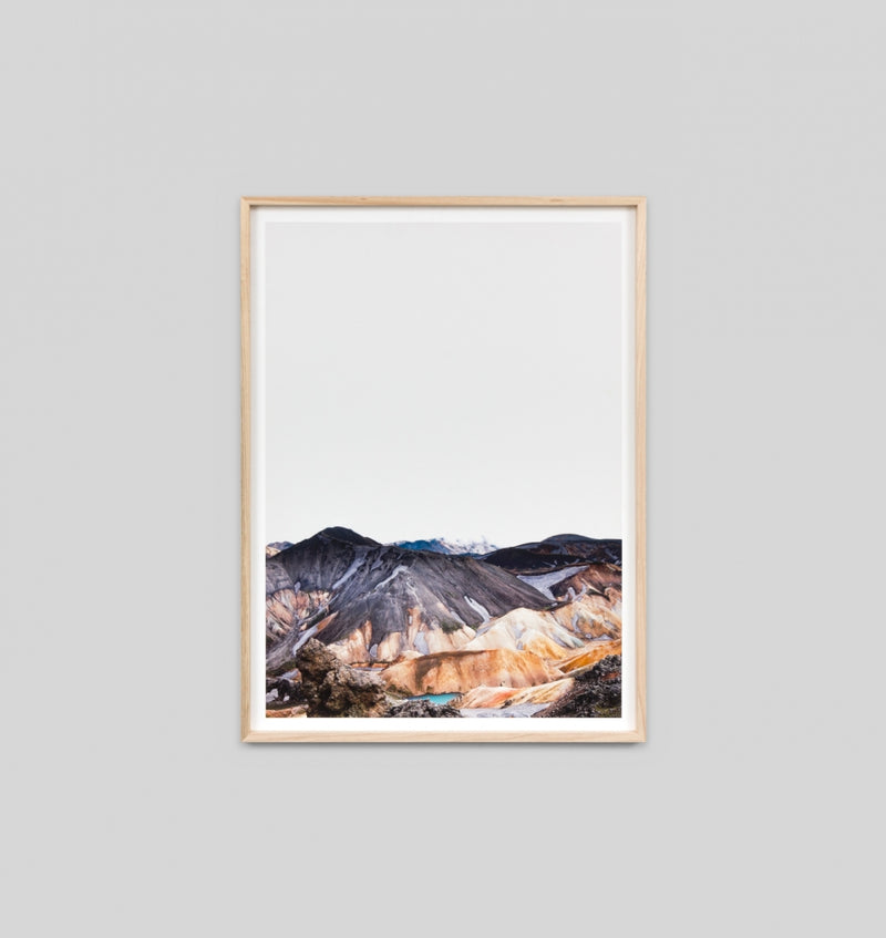 Middle of Nowhere Nordic Landscape Print (4545948647508)