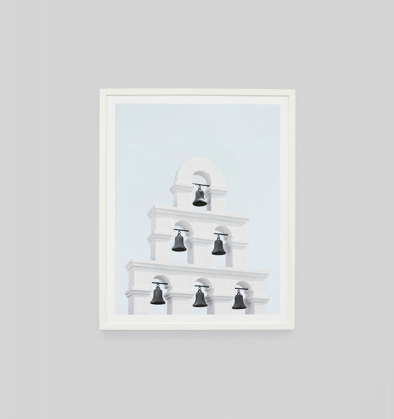 Middle of Nowhere Santorini Bells Print (4546194866260)