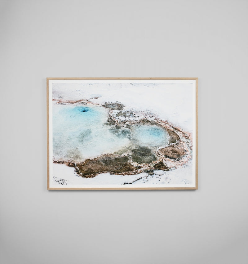 Middle of Nowhere Blue Spring Print (4545501528148)