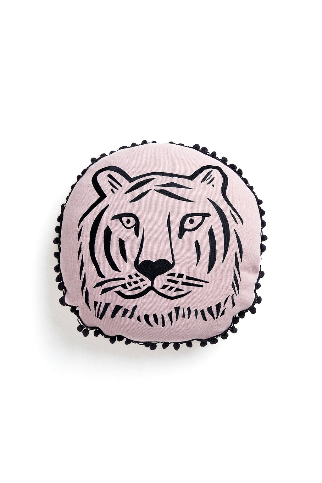 Cheeky Tiger Round Cushion (4609483800660)