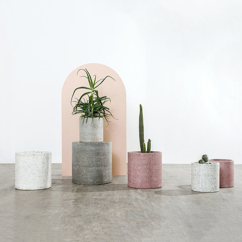 Fox and Ramona Terrazzo Planters - STORE PICK UP ONLY (2540455133268)