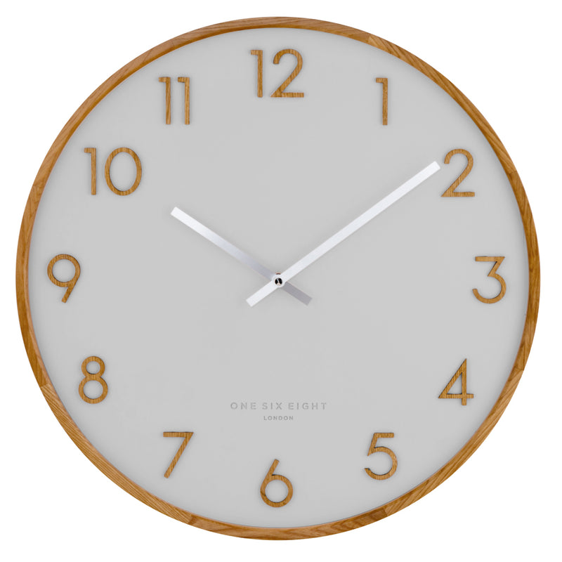 Copy of SCARLETT 50cm Cool Grey Wall Clock (4666982170708)