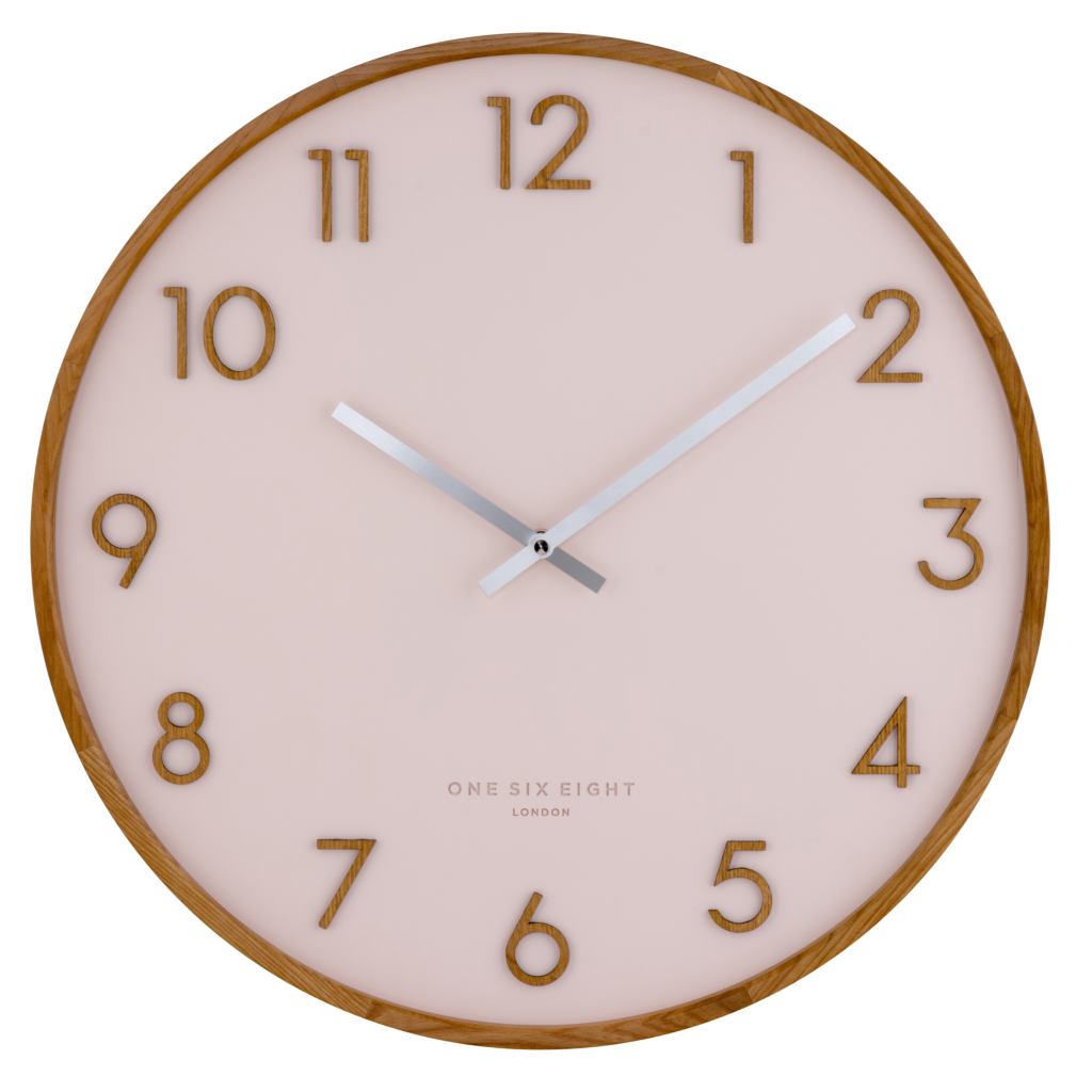 SCARLETT 50cm Blush Wall Clock