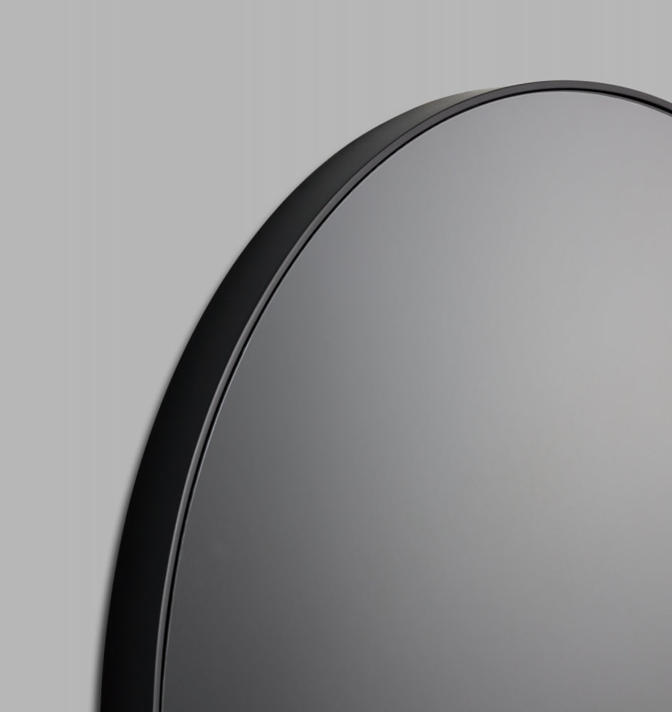 Middle of Nowhere Flynn Round Black/ Storm Mirror (4545417183316)