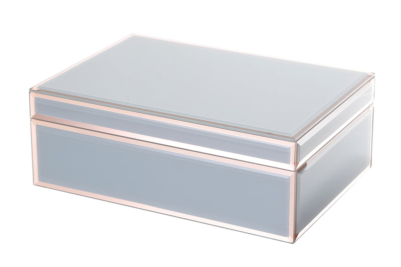 Florence Jewellery Box, Grey Large (3735112613972)