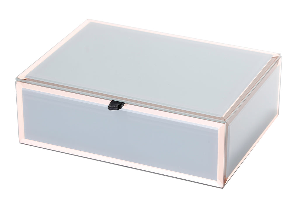 Florence Jewellery Box, Grey Medium