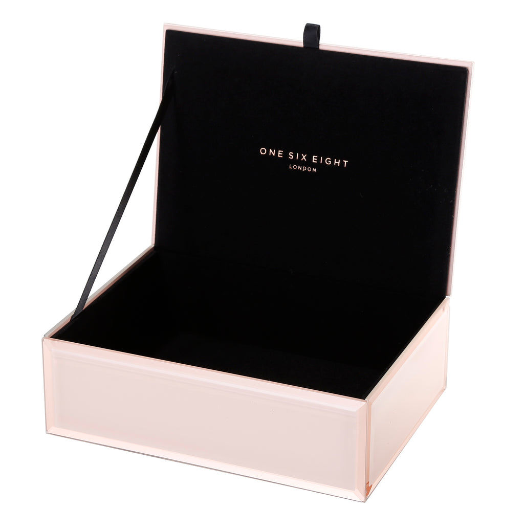 Florence Jewellery Box, Blush Medium PRE ORDER FOR A FEB 2020 DELIVERY (3735102423124)
