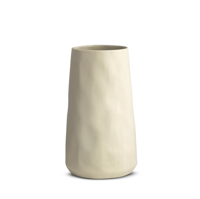 Marmoset Found Tulip Vase X-Large - Chalk White (4707009855572)