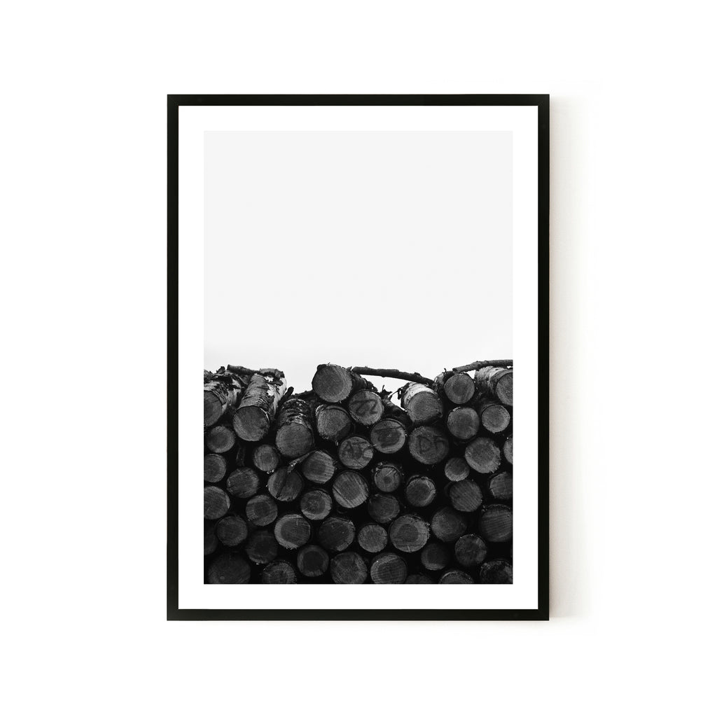 Log Stack Print - Various sizes (4562419744852)