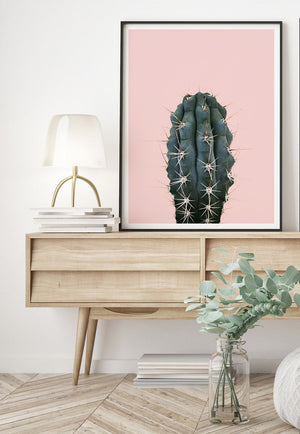 Donna Delaney - Cactus Craze Pink Print (various sizes) (3448929386580)