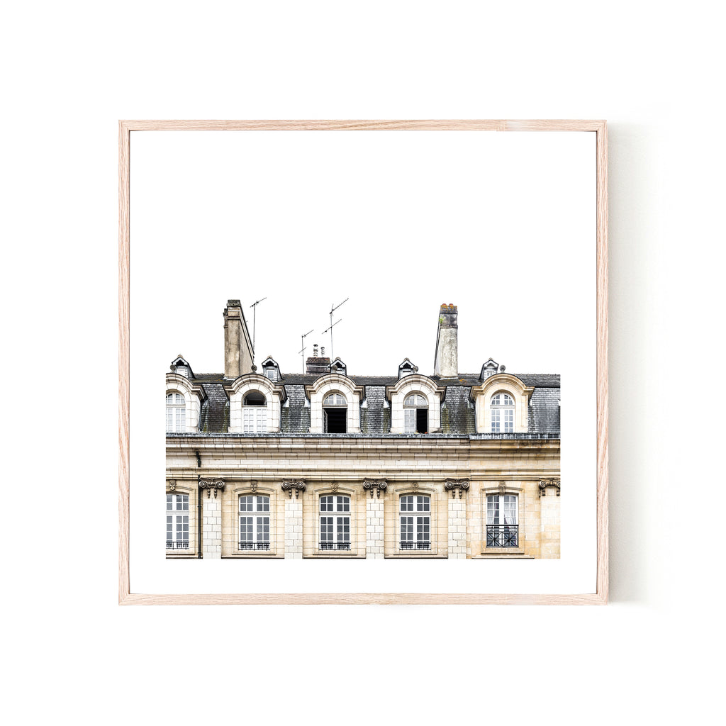 Rennes Facade Print - Various sizes