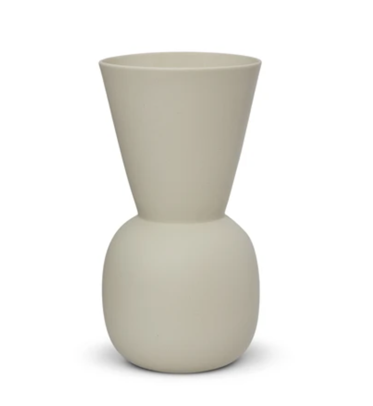 Marmoset Found Cloud Bell Vase, Large - Chalk White (6145367244988)