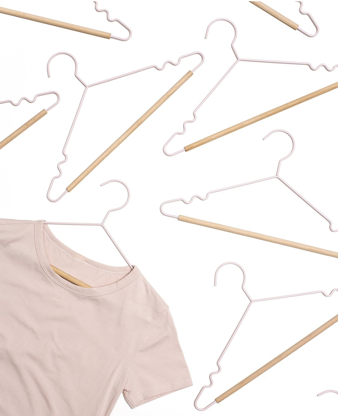 Mustard Made Adult Top Hangers in Blush (6535383548092)