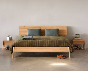 Ethnicraft Oak Air Queen Bed - norsu interiors (7724376771)