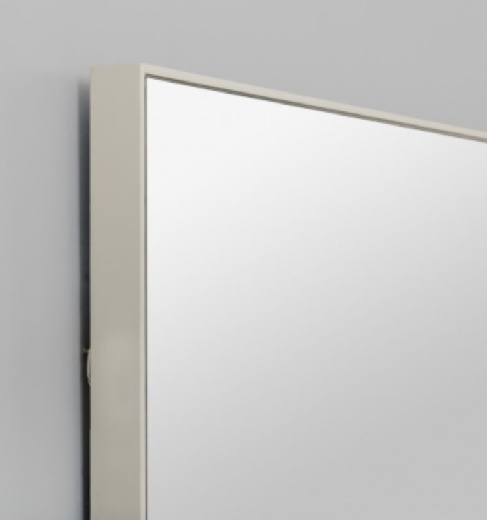 Middle of Nowhere Flynn Rectangle Mirror - Grey, 100 x 120cm - norsu interiors