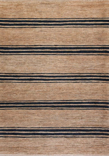 Armadillo&Co River Rug - Pewter Echo Stripe