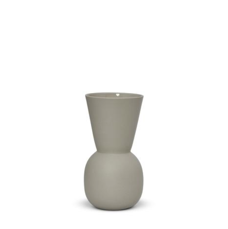 Marmoset Found Cloud Bell Vase Small - Dove Grey (2541182910548)