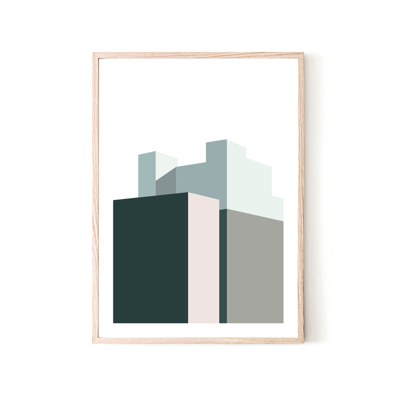 Skyline Print - Various sizes (4562410602580)