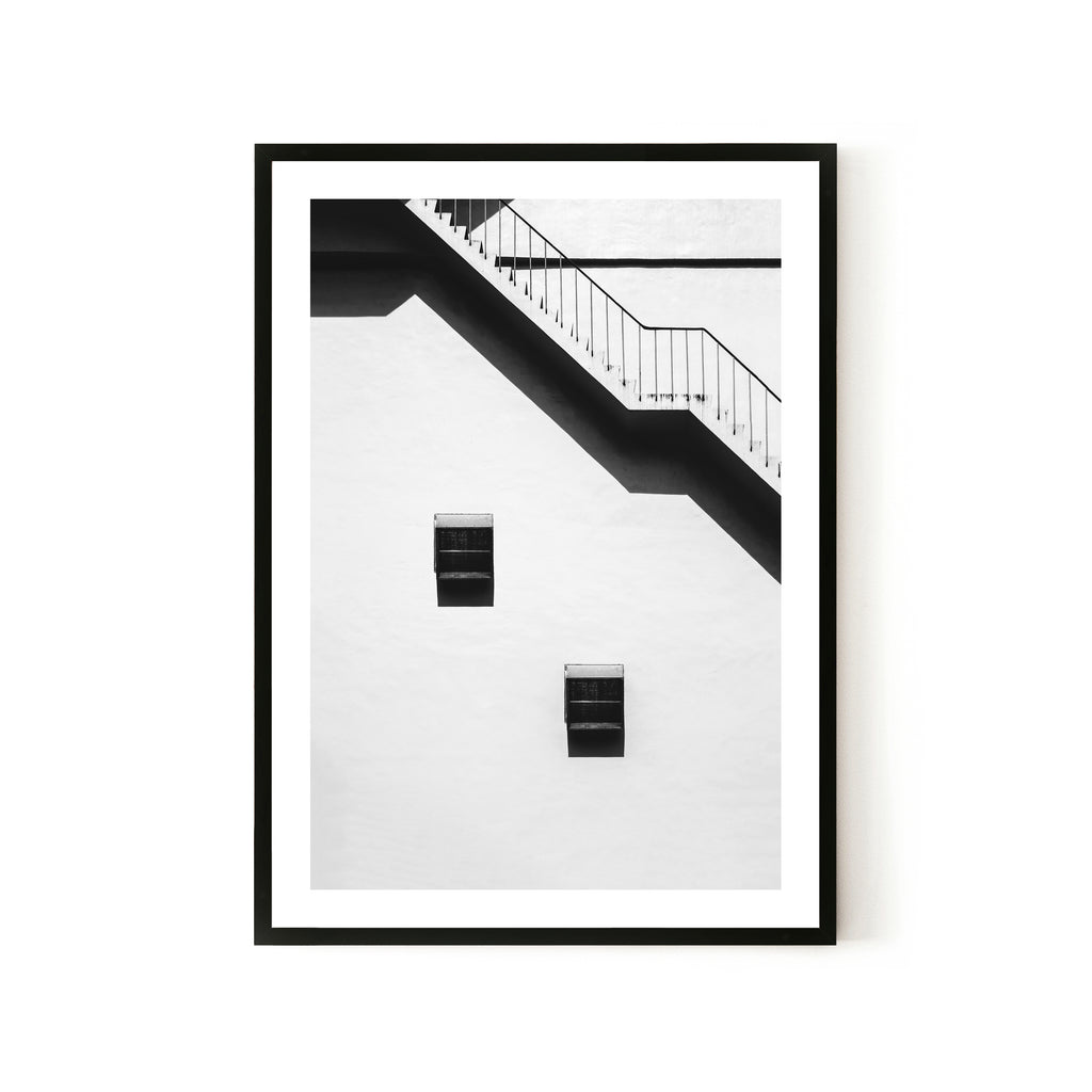 Stairwell Print - Various sizes (4562425249876)