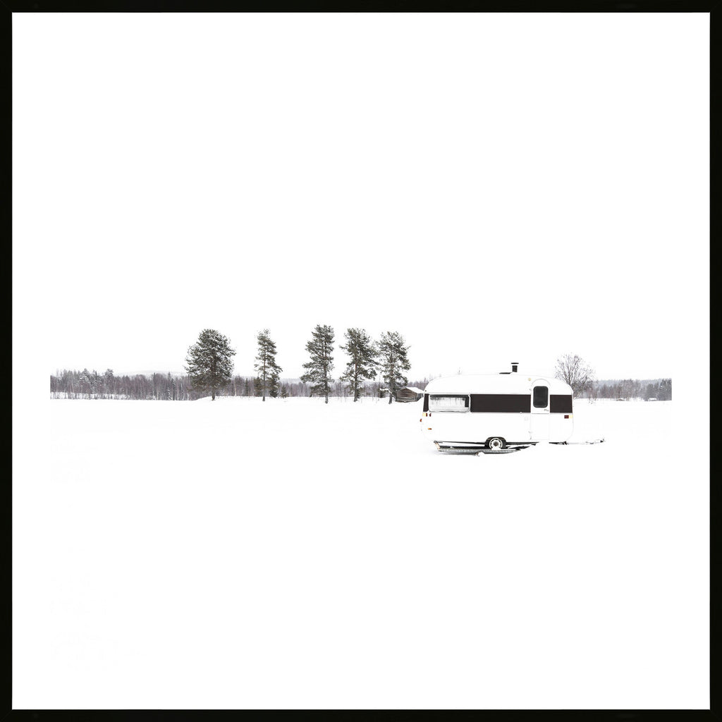 Winter Camper Print - Various sizes (3736081039444)