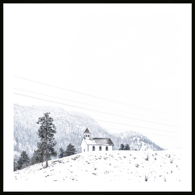 Winter Retreat Print - Various sizes