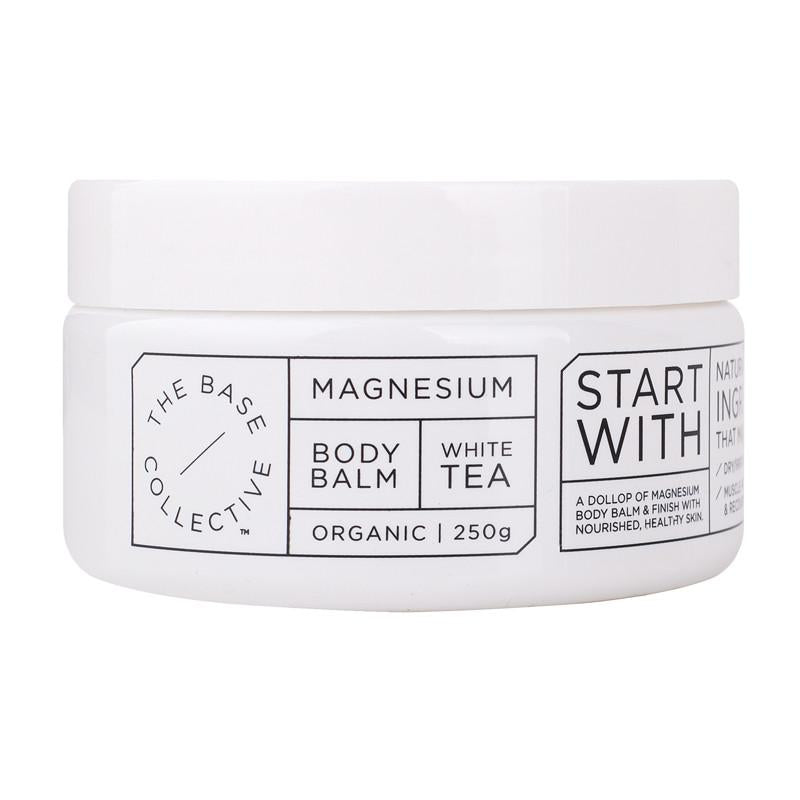 The Base Collective - Magnesium + White Tea Body Balm (2411092672596)