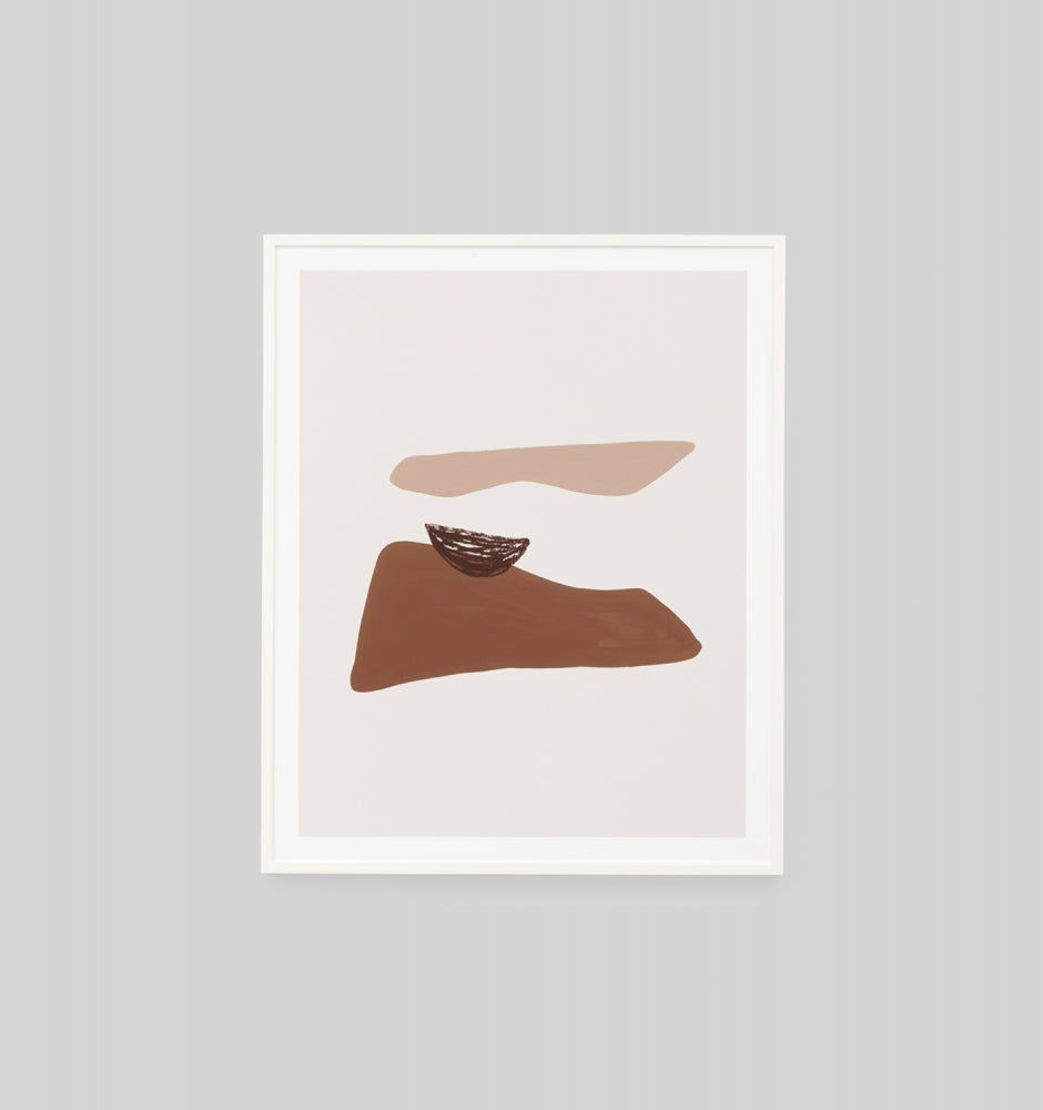 Middle of Nowhere Orla Rust 1 Framed Print (4785153114196)