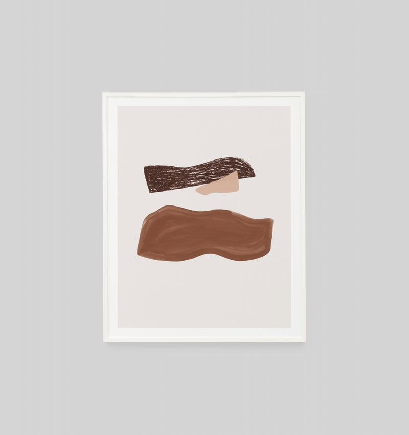 Middle of Nowhere Orla Rust 3 Framed Print (4785153409108)