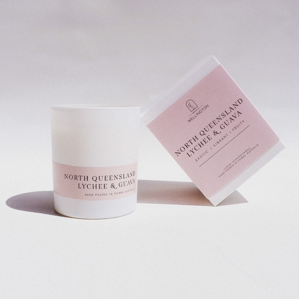 House of Wellington - North Queensland Lychee & Guava Candle (6736919429308)